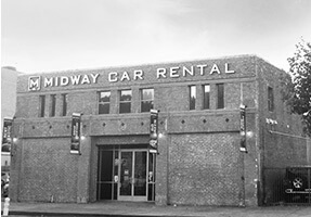 Midway Car Rental Downtown LA